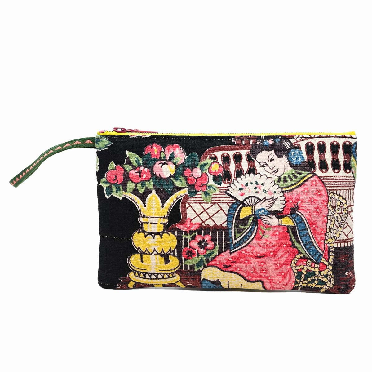 clutch bag asian motif