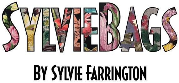 cropped Sylvie Bags Vintage Barkcloth Custom Bags