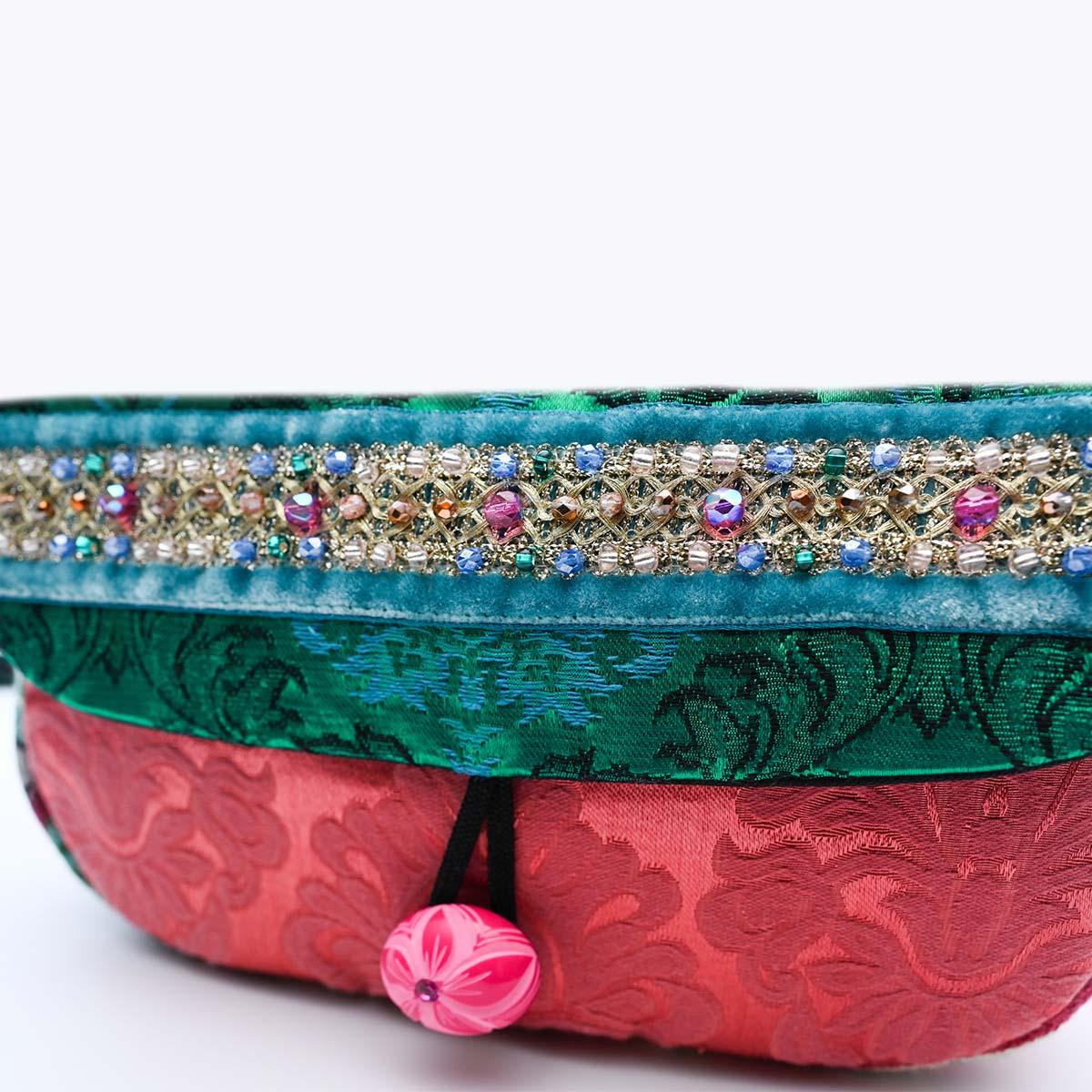 cruise bag teal pink DSC 6354