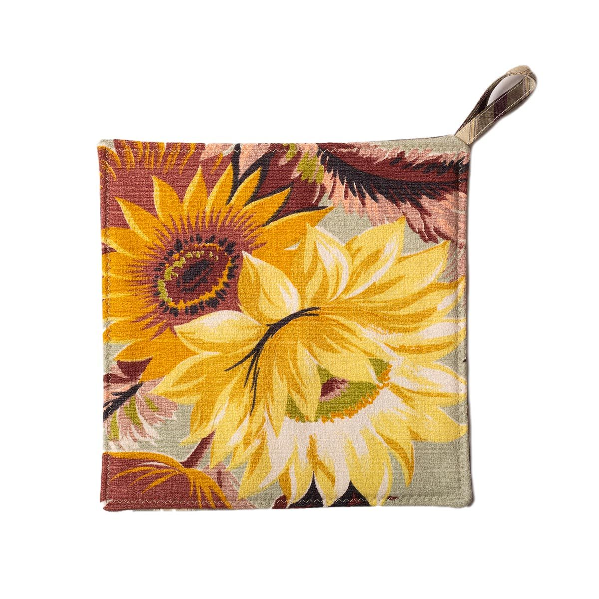Sunflowers Potholders front e1587938926712