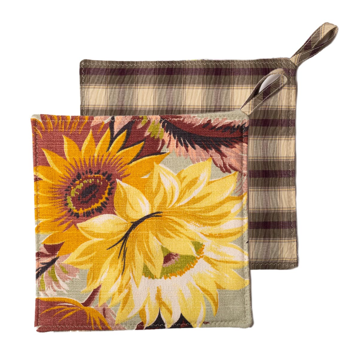 Sunflowers Potholders