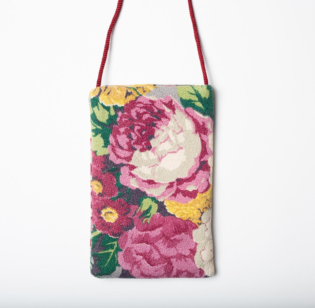 Cellphone Bag Hydrangeas Peonies