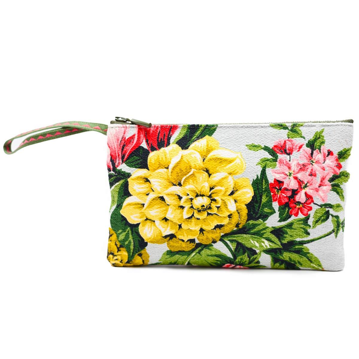 clutch floral dahlias and dogwood
