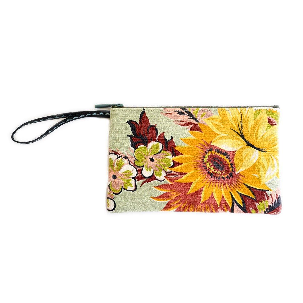 clutch bag sunflower