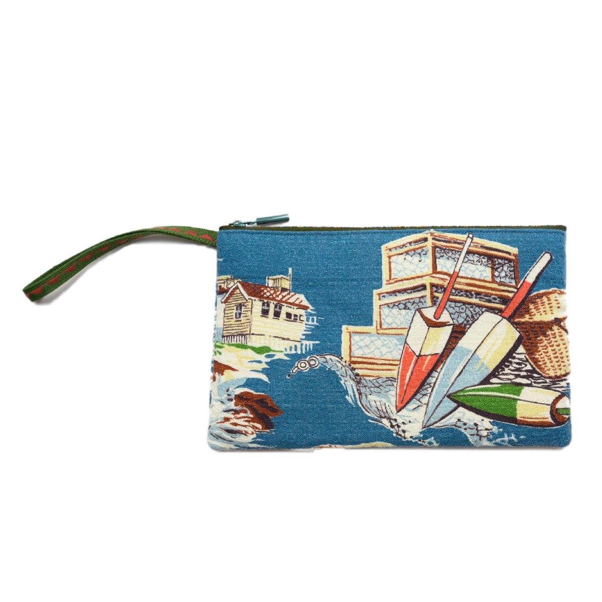 Clutch Bag nautical motif 1