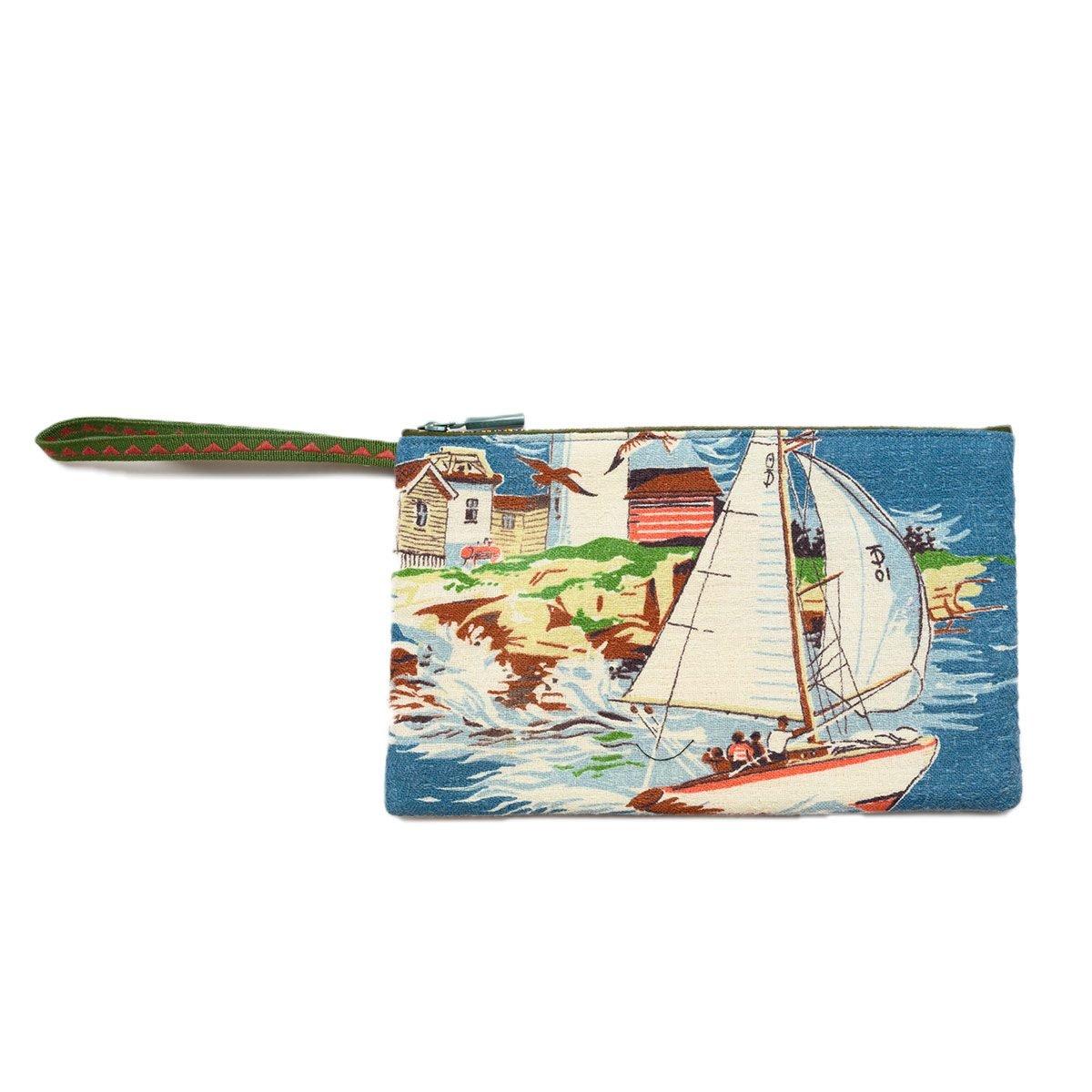 Clutch Bag nautical motif 2