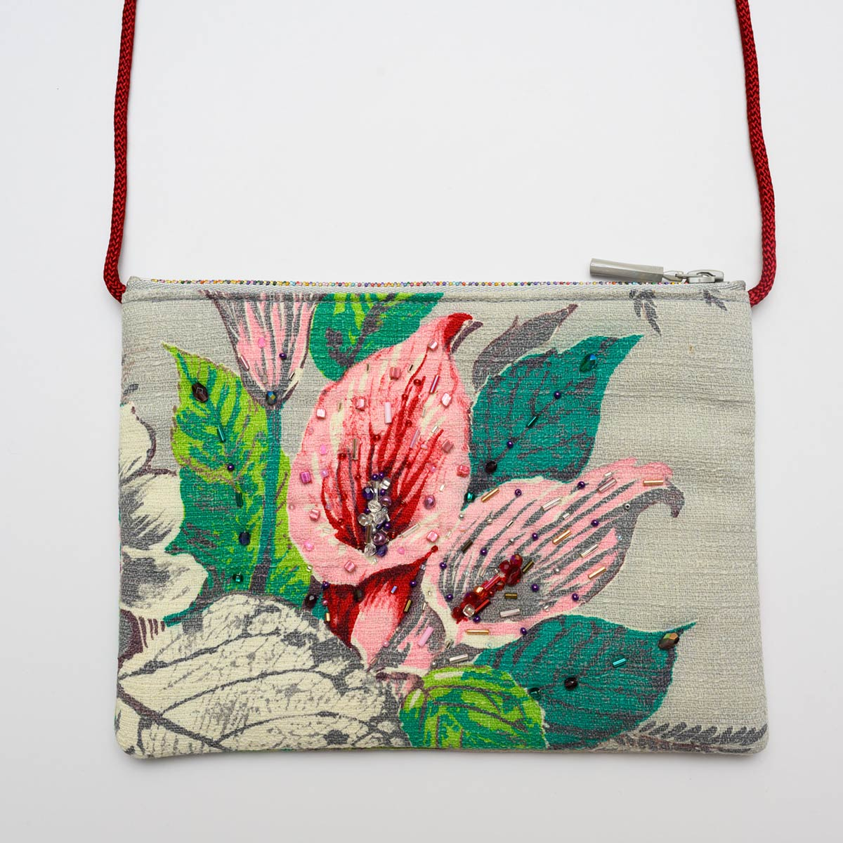 The Opera Bag – calla lilies gray