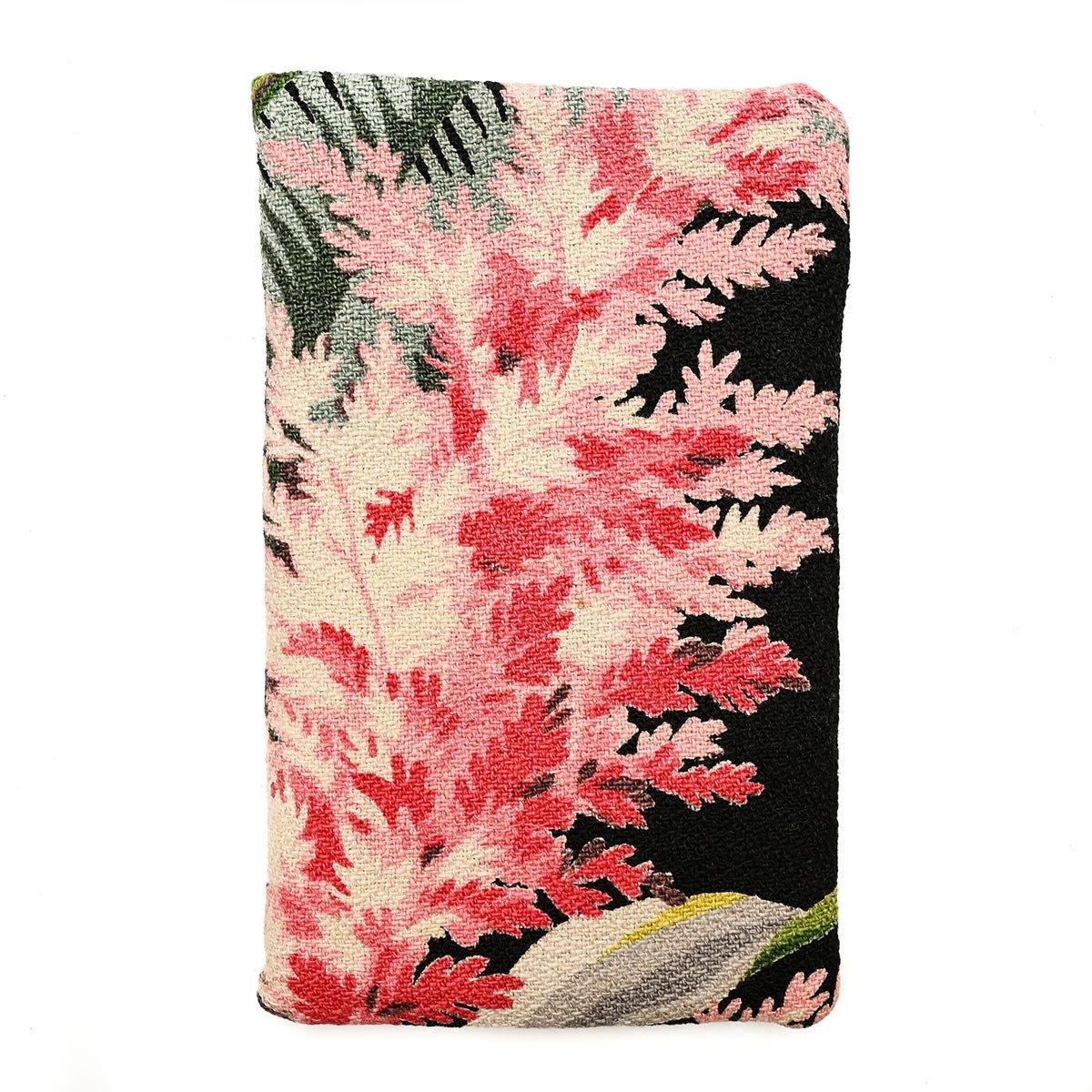 cellphone bag botanical on black
