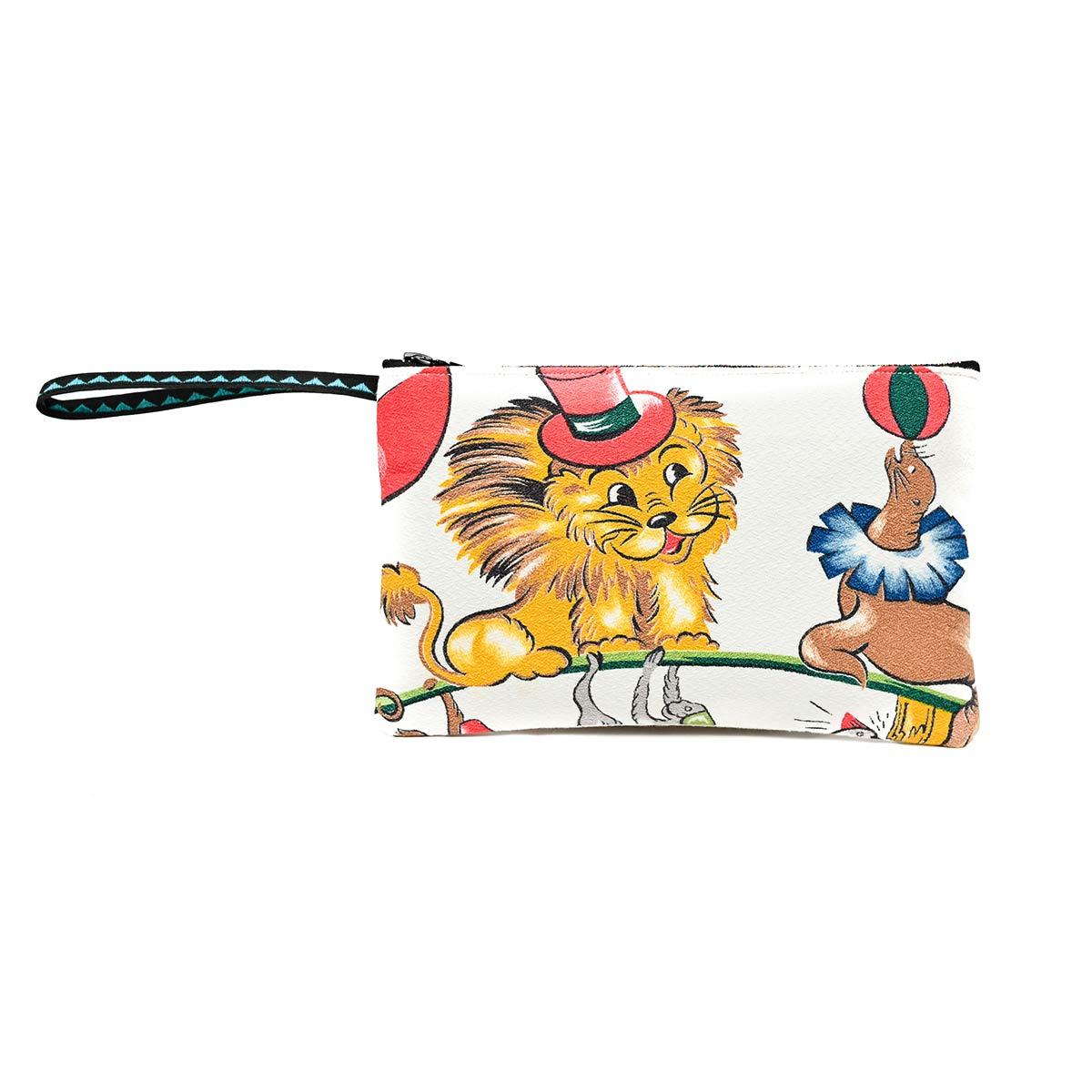 clutch bag 1950s childrens motif 2