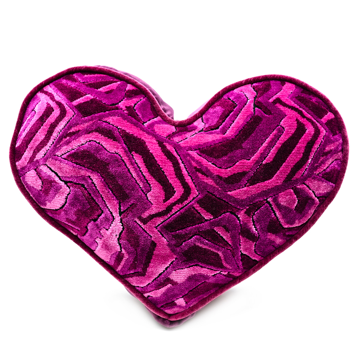 Large Heart Pillow – Very Berry
