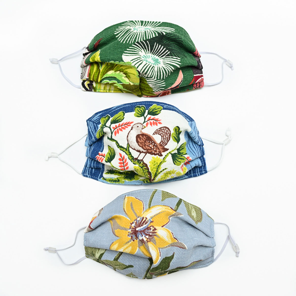 Happiness Face Mask – Set of Three