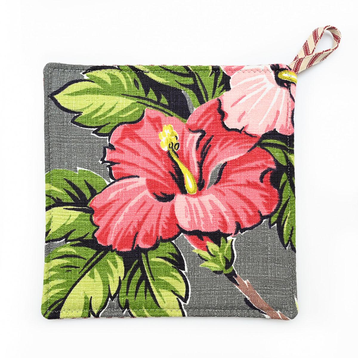 Hibiscus Potholders