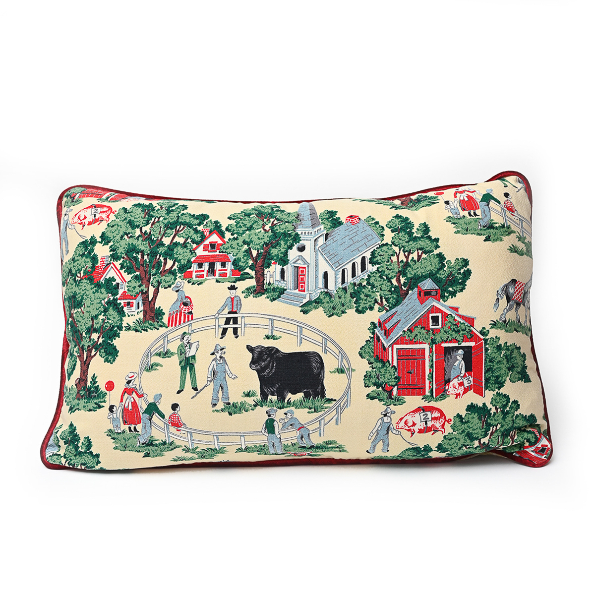 Come to the Fair Bed Pillow: 28 x 18