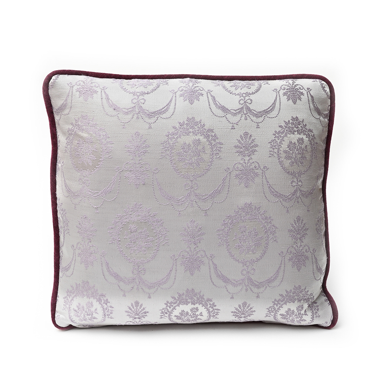 Pair Of Pillows, Lilac Bouquet: 18 x 18