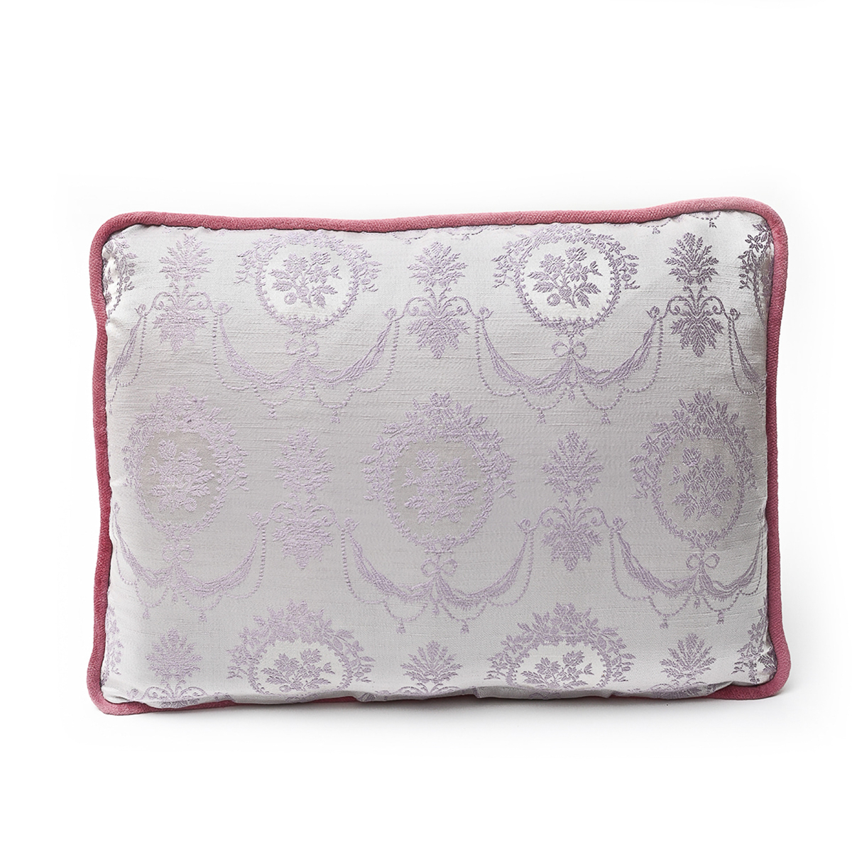 Pair Of Pillows, Floral on Lemon: 14 x 18